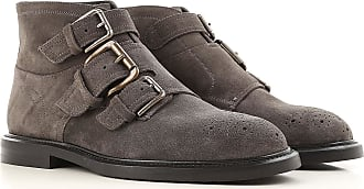 Boots for Men, Booties On Sale in Outlet, Black, Leather, 2017, 6.5 7 8 9 Dolce & Gabbana
