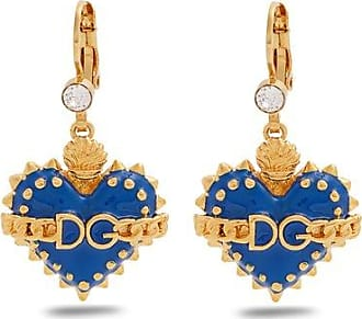 Dolce & Gabbana Seahorse and heart-drop clip on earrings Gn76oNgKS