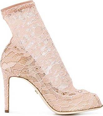 Damen Ct0389an2678f217 Rosa Polyamid Stiefeletten Dolce & Gabbana Dm2A0AdeZ0