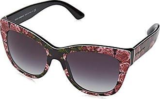 Dolce & Gabbana Herren Sonnenbrille 0DG4288 306373, Braun (Striped Brown/Brown), 56