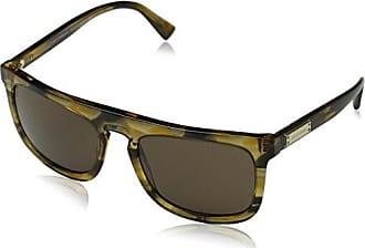 Dolce & Gabbana Herren Sonnenbrille 0DG4284 304973, Gelb (Top Havana On Transp Yellow/Brown), 54