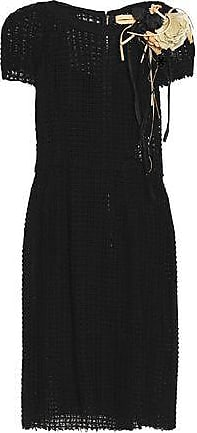 Dolce & Gabbana Woman Crocheted Cotton Dress Black Size 38 Dolce & Gabbana NYgtrtDAAk