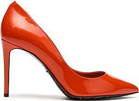 Dolce & Gabbana Woman Patent-leather Pumps Papaya Size 36.5 Dolce & Gabbana hcl2EM