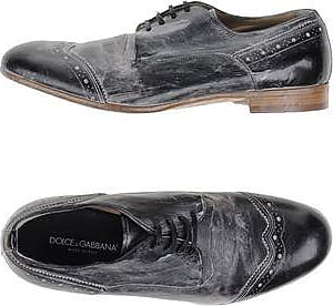 Lace Up Shoes for Men Oxfords, Derbies and Brogues On Sale, Black, Leather, 2017, 6.5 6.75 7 7.5 8 8.5 9 9.25 9.5 Dolce & Gabbana
