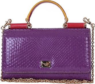gebraucht - Clutch aus Leder - Damen - Silbern - Leder Dolce & Gabbana bMZFe2g