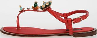 Leather STROMBOLI Sandals Spring/summer Dolce & Gabbana ZH53U7