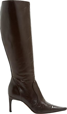 Pre-owned - Leather boots Dolce & Gabbana RWOpVfuE