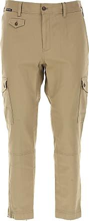 Pantalons Pour Les Hommes En Vente, Bleu Marine, Coton, 2017, 30 32 34 36 38 Dolce & Gabbana