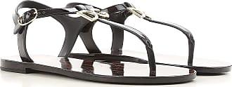 Sandales Pour Les Femmes En Vente, Blanc, Cuir Verni, 2017, 2,5 3,5 4,5 5,5 7,5 Dolce & Gabbana