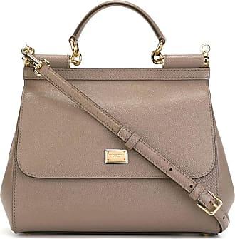 Dolce & Gabbana Top Handle Handbag On Sale, Cornflower, Leather, 2017, one size