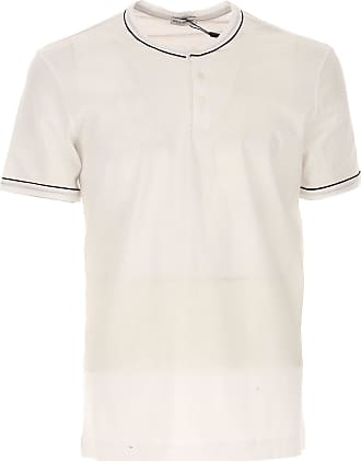 Camiseta de Hombre Baratos en Rebajas, Blanco, Algodon, 2017, L M S Dolce & Gabbana