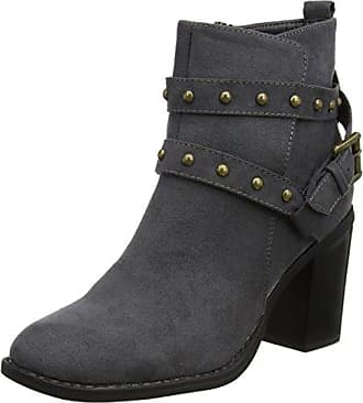 Ital-Design - botas estilo motero Mujer , color negro, talla 40