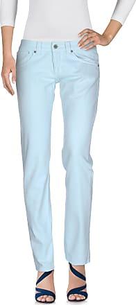 Pantalons Pour Les Femmes En Vente, Bleu Ciel, Le Coton, 2017, 25 26 27 28 Dondup
