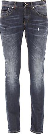 Jeans On Sale, Denim Blue, Cotton, 2017, 30 31 32 33 34 36 Dondup