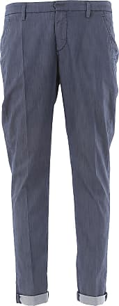 Pantalon Homme Pas cher en Soldes, Bluette, Coton, 2017, 49Dondup