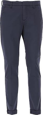 Pantalons Pour Les Hommes En Vente, Bleu Foncé, Coton, 2017, 32 35 36 38 Dondup
