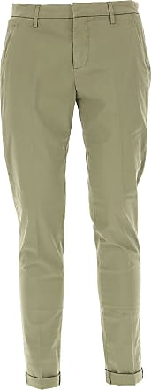 Pants for Women On Sale, Beige, Cotton, 2017, 26 28 Dondup