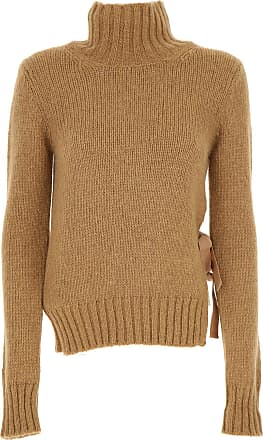 Sweater for Women Jumper On Sale, Light Sky Blue, Wool, 2017, 10 Dondup