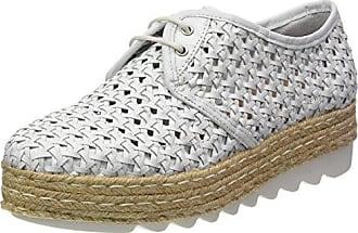 Donna PIU 52719 Ruby, Zapatos de Cordones Derby para Mujer, Blanc (Vacchetta Bianco), 40 EU