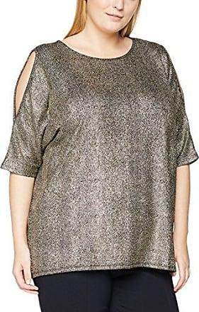 Dorothy Perkins Curve Ruffle Cold Shoulder, Blusa para Mujer, Verde, 48