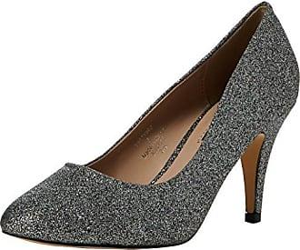 Pandora, Zapatos de Tacón con Punta Cerrada para Mujer, Azul (Navy 100), 37 EU Dorothy Perkins