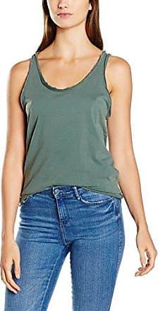 Double Agent Striped Crop Top, Camiseta para Mujer, 006 Crudo Vigore, S