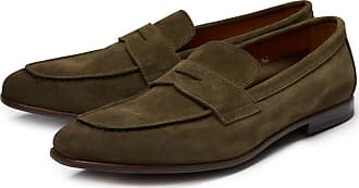 Loafers for Men On Sale, Chocolate Brown, Suede leather, 2017, 10.5 6.5 7 8.5 9 9.5 Doucal's