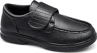 Dr Keller Schwarzer Lederner Müßiggänger-Schuh der Frauen - Größe 3 UK/35.5 EU - Schwarz X1cmCQ