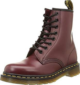 101 Smooth, Boots mixte adulte - Rouge (Cherry Red), 45 EU (10 UK)Dr. Martens