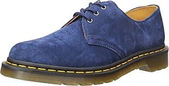 Dr. Martens 1461 Smooth 10078410 - Zapatos de cordones de cuero para hombre, color azul marino, talla 38