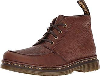 Marchand De Bataille - Chaussures À Lacets En Cuir Brun À L'homme Brun Foncé, Brun, Taille 43 Eu