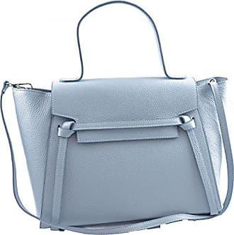 Schultertasche Aus Echtem Leder Farbe Rot - Italienische Lederwaren - Damentasche Dream Leather Bags Made in Italy bCIH5fw8m