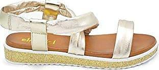 EU710AW1801, Damen Pantoffeln, Gold - Gold - Größe: 37 EU Drudd