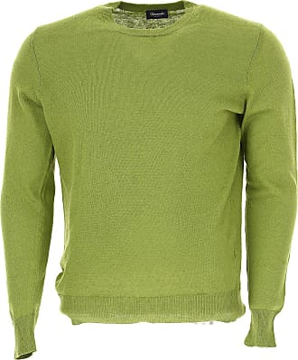Sweater for Men Jumper On Sale, Blue, linen, 2017, L XL XXL Drumohr