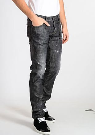 15 cm Stretch Cotton Denim TIDY BIKER Jeans Fall/winter Dsquared2 9CbZK