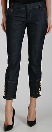 17cm Capri Jeans with Golden Bottons Größe 40 Dsquared2