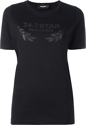 24-7 STAR T-Shirt - Schwarz Dsquared2