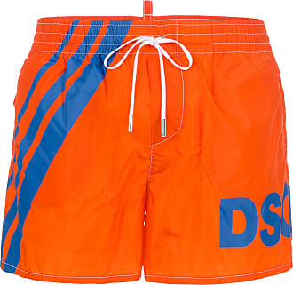 logo band swim shorts - Yellow & Orange Dsquared2 Free Shipping Original Free Shipping In China Discount Classic Sale For Sale Cheap Low Price Fee Shipping o4nQ2mF
