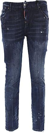 Jeans On Sale, Denim, Cotton, 2017, 26 28 30 32 36 38 Dsquared2
