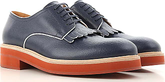 Lace Up Shoes for Men Oxfords, Derbies and Brogues On Sale, Blue Navy, suede, 2017, 6 6.5 Tod's