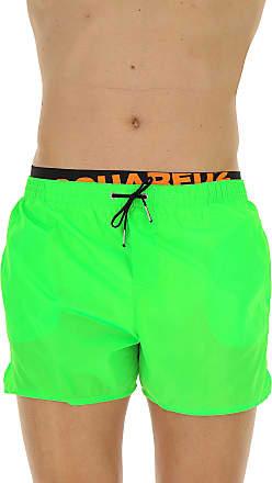 Swim Shorts Trunks for Men On Sale, Fluo Fuchsia, polyamide, 2017, S (EU 46) M (EU 48) Dsquared2