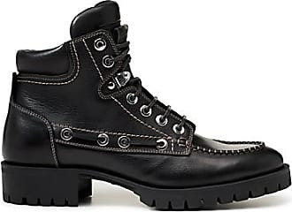 Dsquared2 Logo strap double laced boots V9HYC