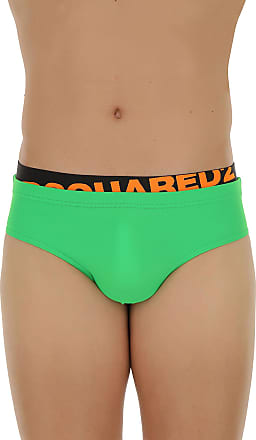 Swim Briefs for Men On Sale, Green, polyamide, 2017, S (EU 46) M (EU 48) L (EU 50) XL (EU 52) Dsquared2