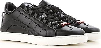 Sneaker für Damen, Tennisschuh, Turnschuh Günstig im Outlet Sale, Schwarz, Leder, 2017, 36 37 38 40 Dsquared2