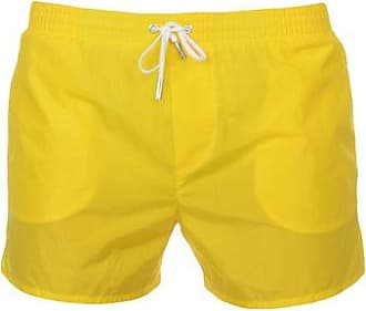 Outlet High Quality Wholesale Price Sale Online neon branded swim shorts - Yellow & Orange Dsquared2 Buy Cheap Ebay Cheap New Styles The Cheapest s6fVI