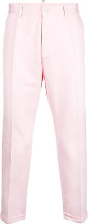 Pantalon Équipé Sur Mesure - Rose Et Violet Dsquared2 m3H98vbhq