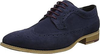 Barmouth Bay, Mocasines para Hombre, Azul (Navy-Nubuck Navy-Nubuck), 46 EU Dune London
