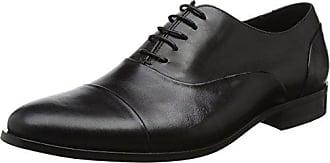 Dune Brooking, Zapatos de Cordones Brogue para Hombre, Marrn (Tan-Suede Tan-Suede), 45 EU