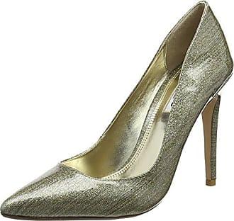 Dune 0084503940188011 - Zapatos de Tacón con Punta Cerrada de Cuero Mujer, Color Negro, Talla 38