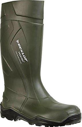 S5 - C462933 - Botas Unisex Color Verde, Talla 45 Dunlop